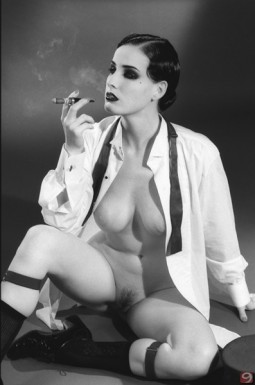 dita von teese in retro 40's styling