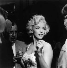 Marilyn Monroe in cocktail dress