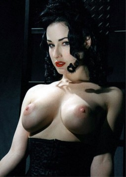 Celebitchy Dita Von Teese got implants