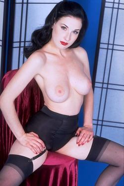 Dita - more lingerie and boobs