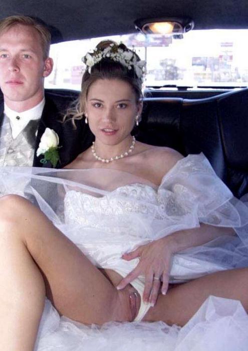 порно фото невест на свадьбе