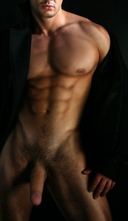 Hot men - etched
