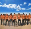 9 shirtless cowboys showing cut abs and pecs galore