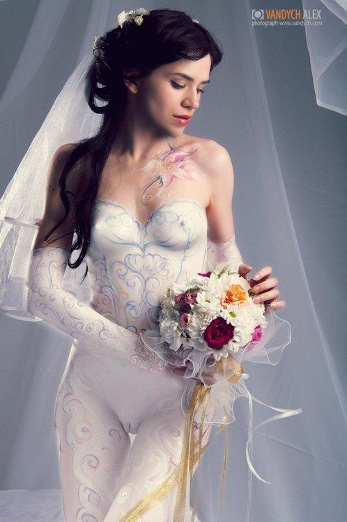 самые откровенные и сексуальные свадебные платья фото порно