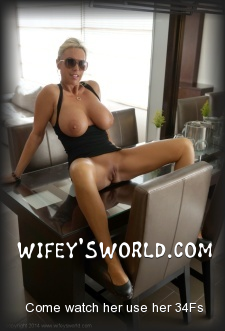 Wifey's Boobs  website